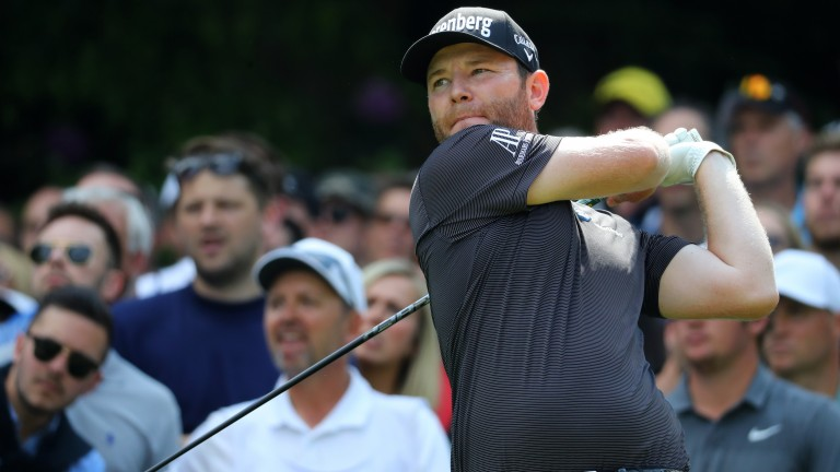 Branden Grace tees off at Wentworth