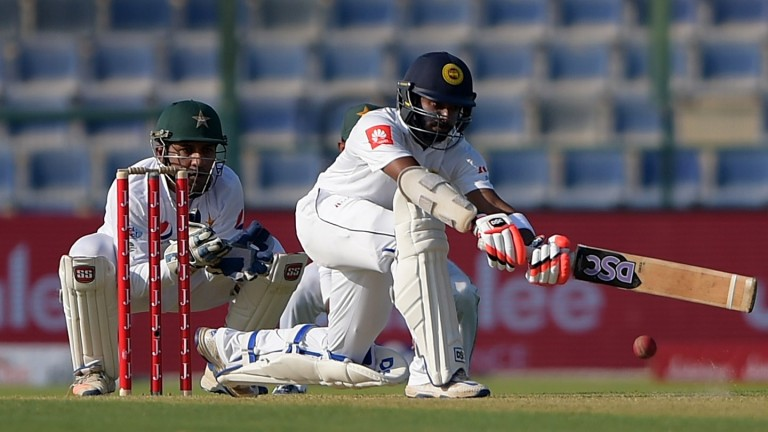 Number six Niroshan Dickwella may have to bail out Sri Lanka in St Lucia