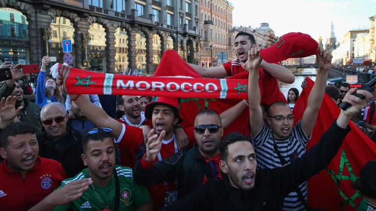 Morocco supporters can get a boost in St Petersburg