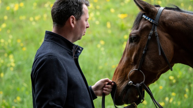 The apple of his eye: Charlie Hills hoping for more fireworks from Battaash