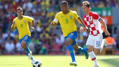 Luka Modric (right) is key for Croatia