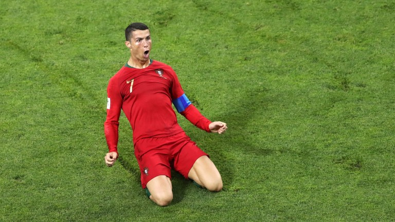 Portugal superstar Cristiano Ronaldo scored a World Cup hat-trick against Spain