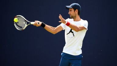 Novak Djokovic is working his way back to top form but he can still be a force on grass