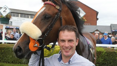 Adrian Nicholls: jockey turned trainer with his second winner Xtara