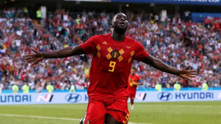 Belgium striker Romelu Lukaku is a real handful for defenders