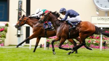 Without Parole - Frankie Dettori wins from Gustav Klimt - Donnacha O'BrienThe St James's Palace Stakes (Group 1) (Colts) (British Champions Series)Royal Ascot 19/6/2018©cranhamphoto.com
