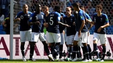 French celebrations against Australia papered over the cracks
