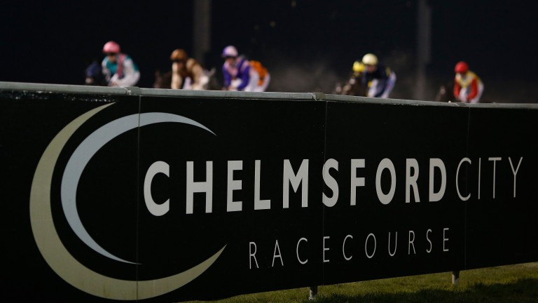 Chelmsford is one of three racecourses hosting action this evening