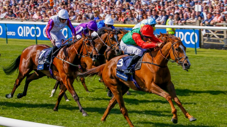 Billesdon Brook: heads for the Nassau Stakes on Thursday