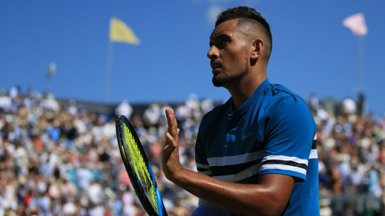 Nick Kyrgios was runner-up in Cincinnati last year