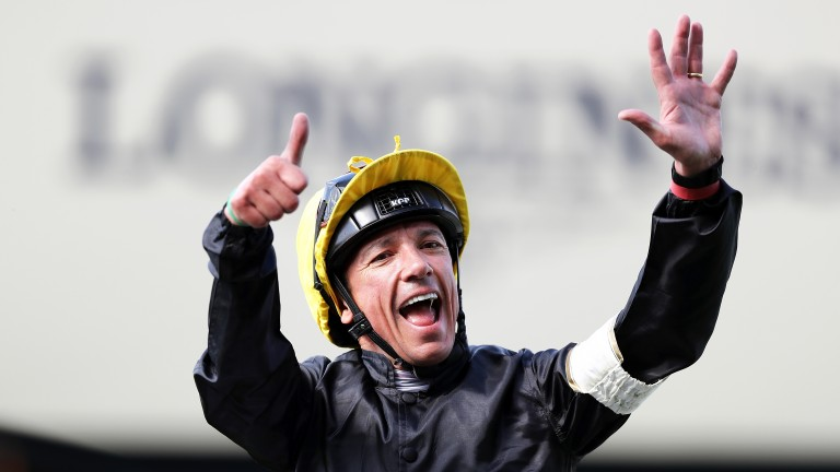 Frankie Dettori: ebullience, enthusiasm and energy – and six Gold Cups after winning on Stradivarius