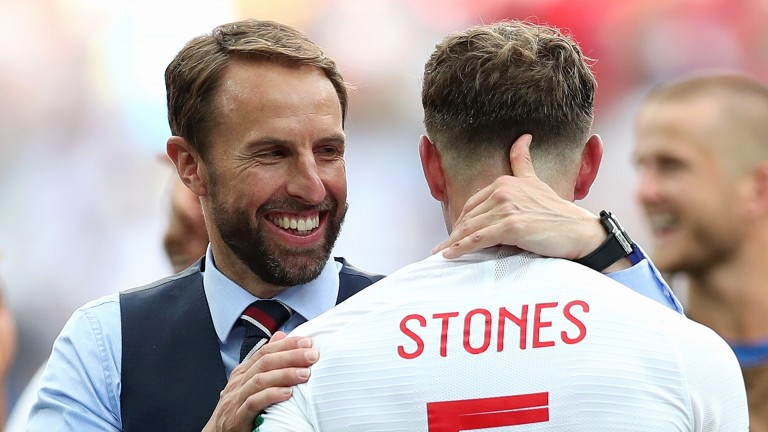 Gareth Southgate has named an unchanged team