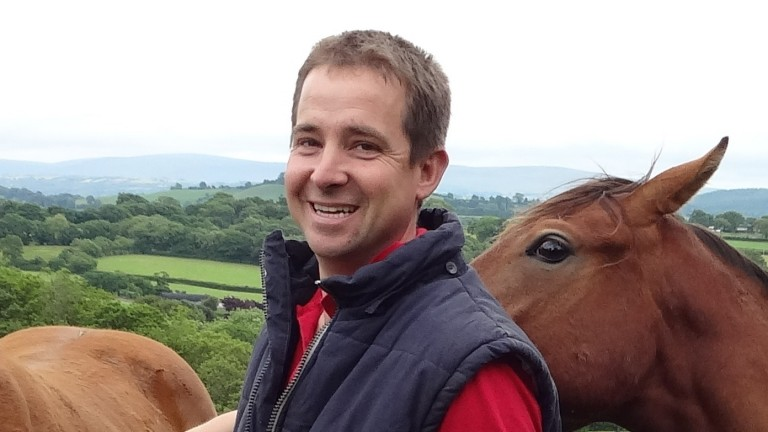 David Hodge produced Royal Ascot winner Soldier's Call from his Welsh farm