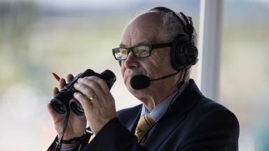 Des Scahill Commentator.The Curragh.Photo: Patrick McCann 12.05.2018
