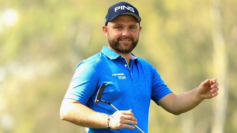 Andy Sullivan has made 21 birdies and an eagle through 54 holes