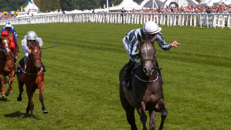 Alpha Centauri is now joint top-rated three-year-old after her brilliant success at Ascot