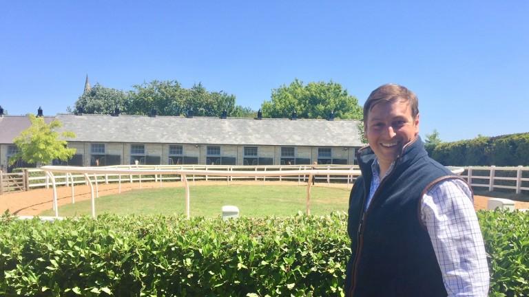 Richard Spencer : at his new yard Sefton Lodge