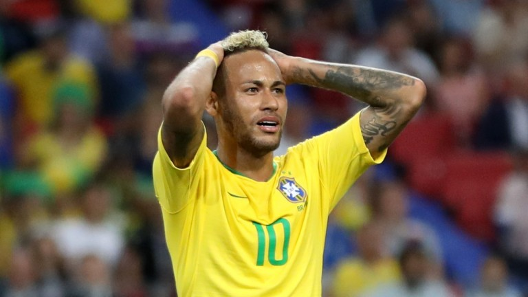 It was another frustrating night for Neymar despite Brazil's victory