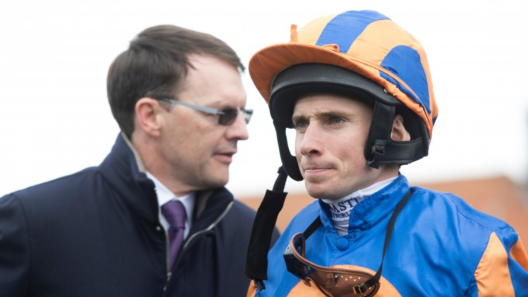 Aidan O'Brien and Ryan Moore: team up with Anthony Van Dyck