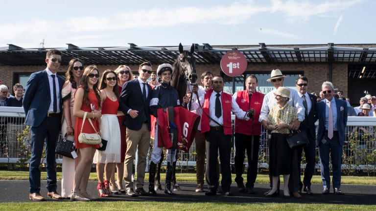 Connections with Latrobe in the winner's enclosure
