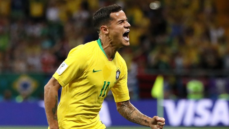 Philippe Coutinho has starred for Brazil in the World Cup
