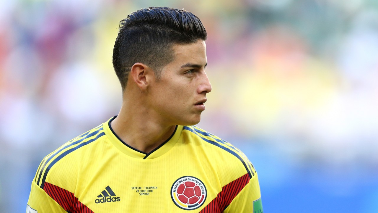 054a469ea36 Fitness of James Rodriguez will decide England against Colombia ...