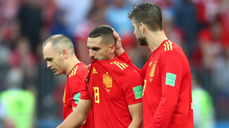 Spain are out of the World Cup