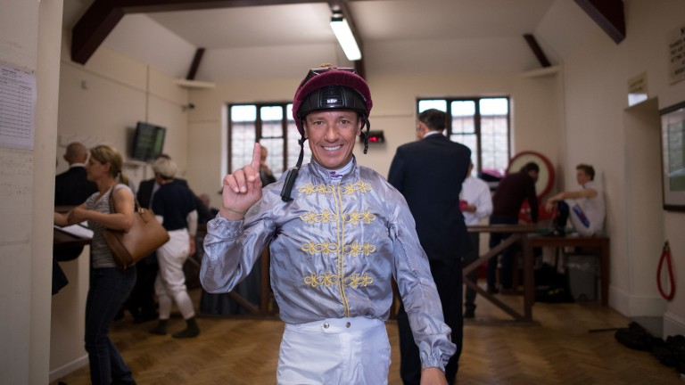 Frankie Dettori joined forces with Sheikh Joaan in July 2013