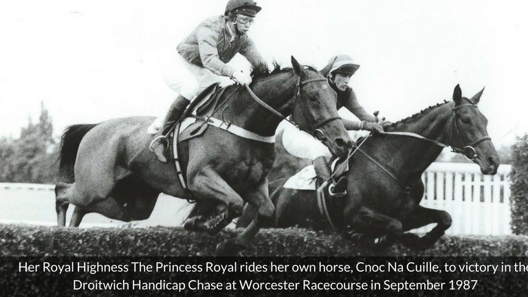 The Princess Royal is set to return to Worcester 31 years after riding a winner there