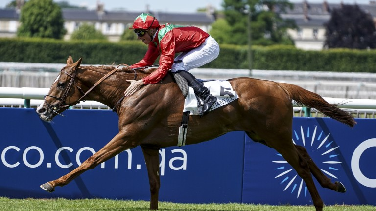 Waldgeist: will now be given a prep race for the Arc