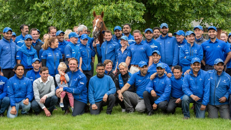 Godolphin team: can strike with Leading Spirit at Goodwood