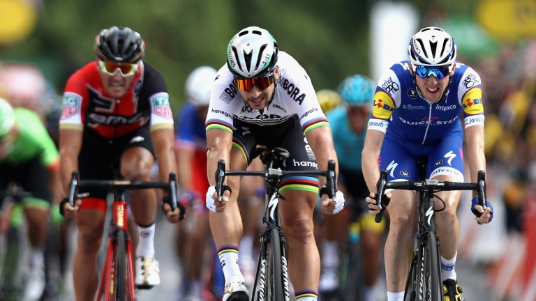 Peter Sagan is chasing a sixth green jersey