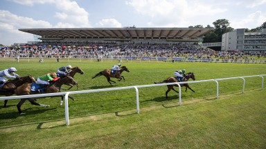 Not for catching: Nearly Caught and James Doyle win the Coral Marathon
