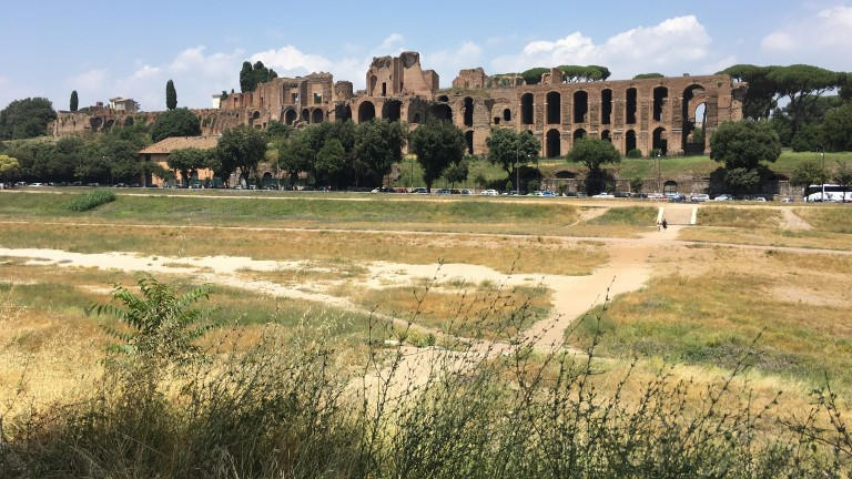 Overlooked by the ruins of emperors' palaces, the Circus Maximus still has the capacity to awe