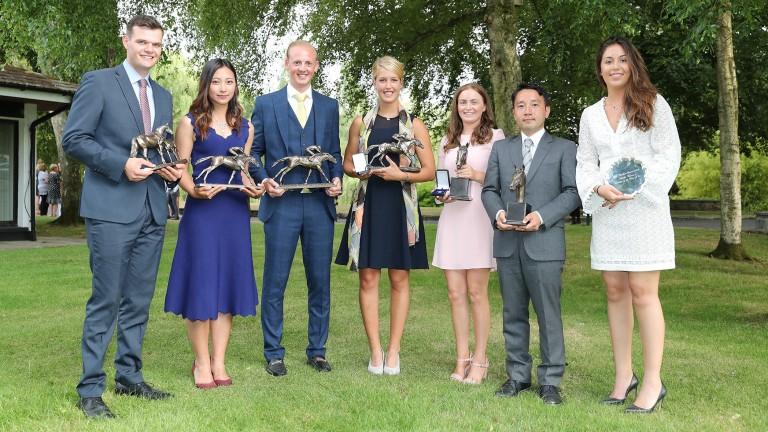 Prize winners (from left): Aron Crehan, Bingqiu (Rebecca) Lu, Robert Shackleford, Margaux Herinckx, Yohei Iwamoto and Sacha Coirre
