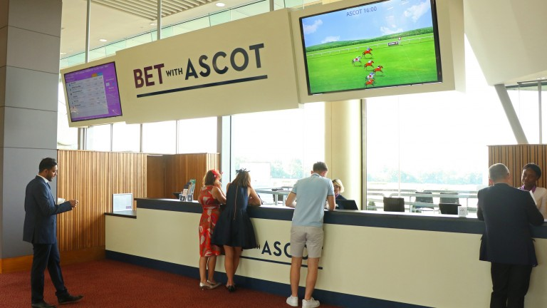 """Punters, including those bettng on course at Ascot, will have a """"seamless"""" experience"""