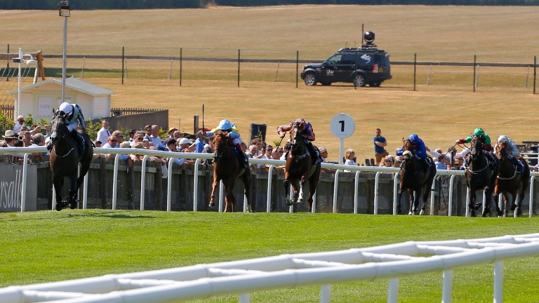 Alpha Centauri - Colm O'Donoghue wins from the field The Tattersalls Falmouth Stakes (Group 1)(British Champions Series) Newmarket  13/7/2018©cranhamphoto.com
