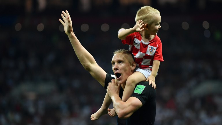 Domagoj Vida of Croatia