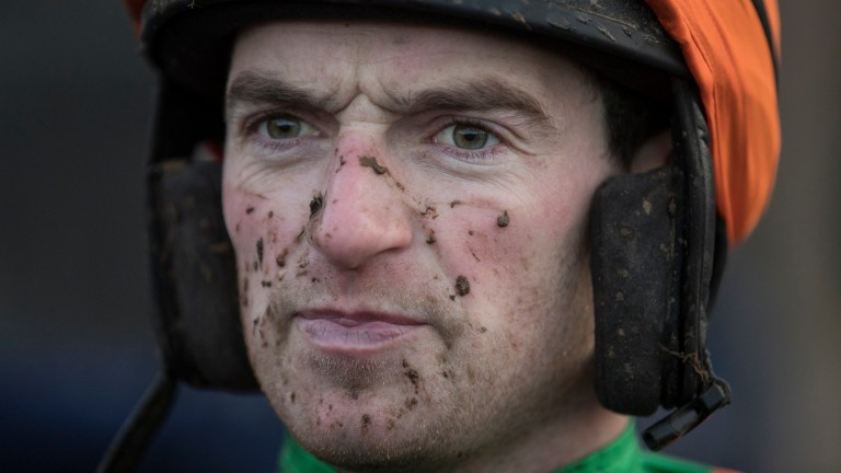 Patrick Mullins: out of luck on his first ride in the Pardubicka