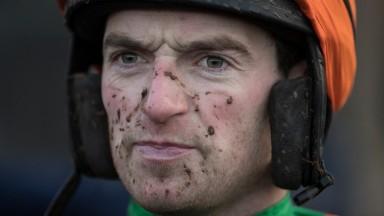 Hollowgraphic (Patrick Mullins) Old House Kill Pro/Am Flat Race.Punchestown.Photo: Patrick McCann 10.12.2017