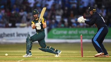 Nottinghamshire have needed some middle-order heroics from Dan Christian in the Blast