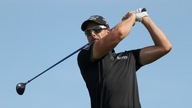 Henrik Stenson hopes to play through the pain in Scotland