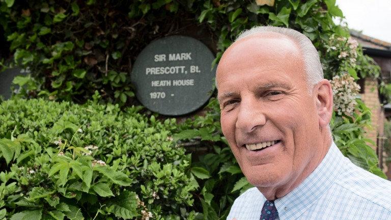 Sir Mark Prescott: 'He's a man of great style and elegance'