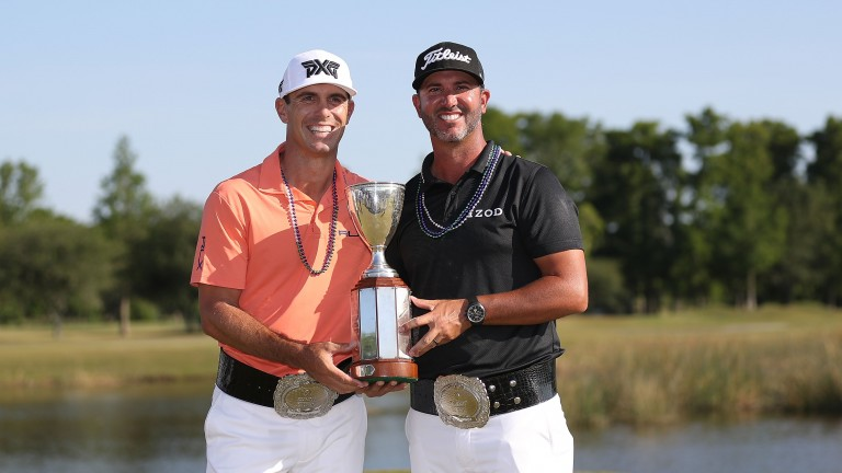 Billy Horschel and Scott Piercy claimed the Zurich Classic earlier this year