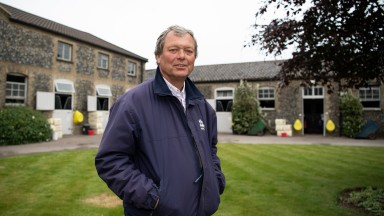 William Haggas: has always trained in Newmarket but is a Yorkshireman to the core