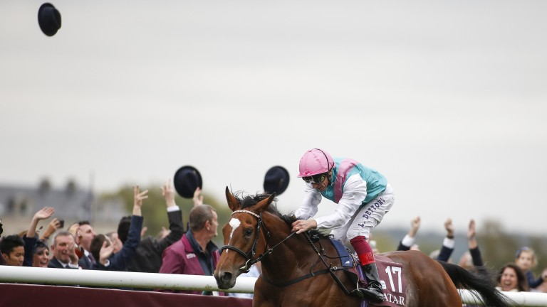 Investec Oaks winner Enable took the Arc last year after winning the Irish and Yorkshire Oaks, as well as the King George