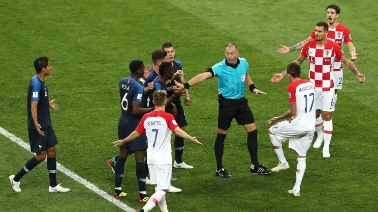 The VAR penalty decision in the World Cup final sparked just as much debate off the pitch as on it
