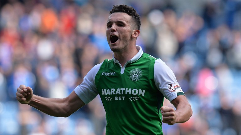 John McGinn is expected to feature as Hibs aim to seal qualification