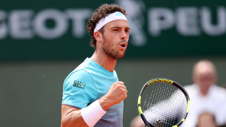 Marco Cecchinato may have enough to overcome Serbia's Laslo Djere