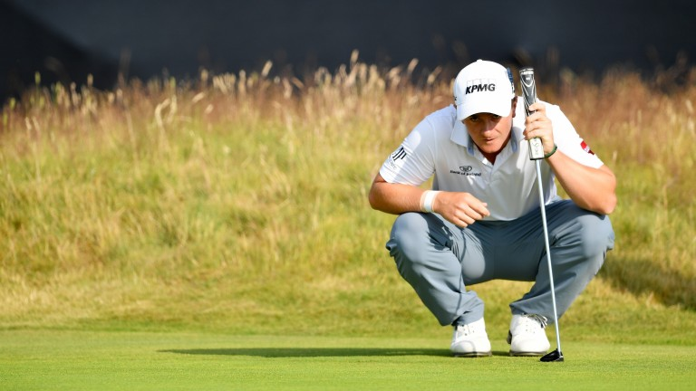 Ireland's Paul Dunne opened with a level-par 71 at Carnoustie